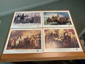 Scott 1686-1689 American Bicentennial Sheets MNH Free shipping in the USA