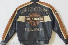 Harley Davidson Men's Prestige Leather USA Made Jacket Bar&Shield 97000-05VM M