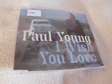 Paul Young - I Wish You Love - Maxi  CD  -  OVP