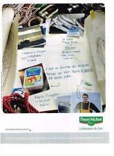 PUBLICITE ADVERTISING  2011   FLEURY MICHON  surimi  GWENDAL LANNOU