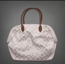 NWT Abercrombie It bag white shine purse bag tote