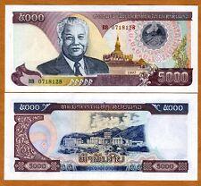 Lao / Laos, 5000 (5,000) Kip, 1997, P-34 (34a), UNC