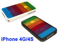 Pride Shack - LGBT Lesbian Gay Pride Rainbow Flag iPhone 4G / 4S Case Cell Cover