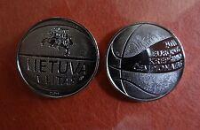 2011 European Basketball Championships - commemor. coin Lithuania 1 Litas UNC,