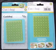Cuttlebug Moroccan Screen Embossing Folder