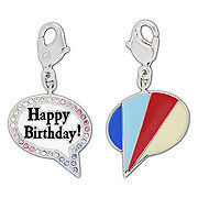 Swarovski birthday message    Charm 1128555   New