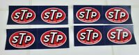 Vintage lot of 8 1960s 1970s STP Racers Edge NASCAR racing Decal Stickers