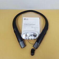 Lg Tone Platinum+ Hbs-920 Wireless Bluetooth Headset - Black