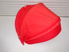 Stokke Xplory V3 V4 V5 Red Fabric Hood with visor for Seat Unit, without Rods