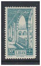 Lebanon - 1954, 50p Palace stamp - L/M - SG 489