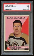 1958 Topps #29 Fleming Mackell *Bruins* PSA 5 EXCL #26527709
