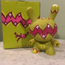 """Kidrobot 8"""" Dunny - 2007 Untitled GREEN by Mist RARE!!"""