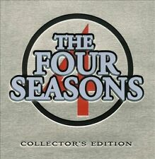 THE FOUR SEASONS/FRANKIE VALLI-COMPLETE COLLECTORS EDITION 3-CD/BOOK/BOX SET.