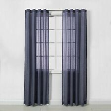 "Window Curtain Panels - Navy - 2pk - 42"" x 84"""