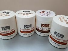 Set of 4 XBC Cocoa Butter Cream 500ml Nourishes & Softens Dry Skin