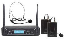 ZZIPP TXZZ520 Radiomicrofono Uhf con Microfoni Archetto e Lavalier