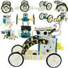 14 in 1 Solar Powered Car Robot DIY Transformer Toy Educational Science Kit WP