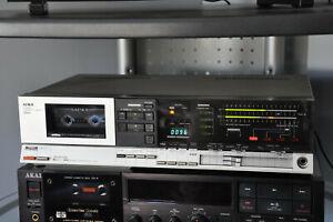 Rare vintage AIWA 3800 3-head dual capstan cassette deck - made in Japan