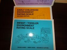 3 Children Rating Scale Books Infant/Toddler,Early Childhood,School Age