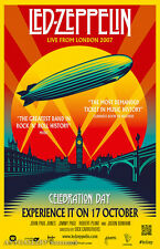 "Led Zeppelin Celebration Day - Movie Poster - (24""x36"") - Free S/H"