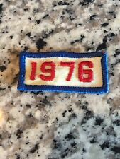 1976 Vintage Year Patch