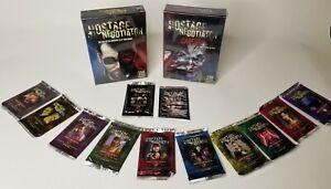 Hostage Negotiator Base+Career Exp+All 12 Booster Packs Van Ryder Games SEALED