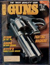 Vintage Magazine *GUNS* April, 1990 !! MARLIN Model 1894 Classic .25-20 RIFLE !!