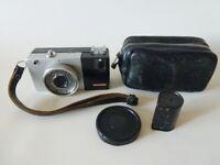 RARE! Soviet Russian KMZ ZORKI12 35mm semi-format camera lens Helios-98 2.8/28mm