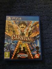 Carnival Games Playstation 4 Spiel ps4 * seltene Party Spaß