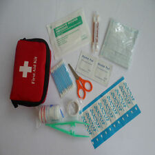 Mini Emergency Medical Bag First Aid Kit Pack Travel Survival Treatment LJ