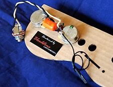 Ready Built 2-Pot Les Paul Junior + SG Junior Wiring Upgrade Loom Harness Kit
