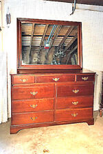 Pennsylvania House Cherry Dresser w/Mirror
