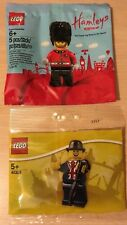 Lego  London Exclusives Hamleys Royal Guard and 40308 Lester Minifigures