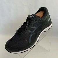 Asics Gel Nimbus 20 (T800N) Mens Black Road Running Lace Up Shoes Size 9.5