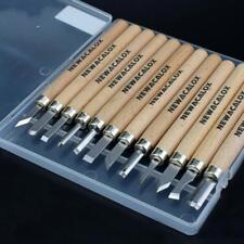 Wood Carving Werkzeugset Handwerkzeuge 12 Stück Neu Profi Holzverarbeitung Stahl