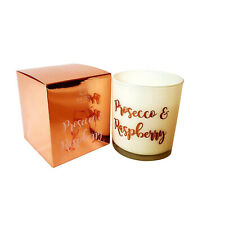 Baltus Candles Luxury Prosecco & Raspberry Scented Fragrance Candle 40hrs Burn