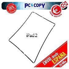 Marco lateral plástico negro para iPad 2 A1397 Repuesto fijación pantalla ipad2