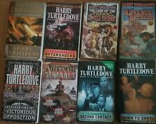 HARRY TURTLEDOVE Lot 8 Books Paperback