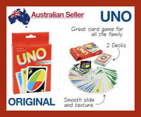 x 2 Decks UNO Playing Cards Card Board Game Attack Family Games Indoor Original