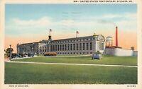 Postcard United States Penitentiary Atlanta Georgia