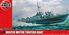 Airfix Royal Navy Vosper 73ft M.T.B. Motor Torpedo Boat model kit 1:72 set
