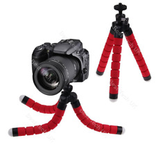 Red Panasonic Camera DSLR SLR Flexible Tripod Gorilla Octopus Stand Holder 1/4