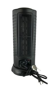 Comfort Zone CZ488 Mini Oscillating Ceramic Tower Heater