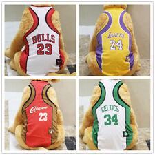 Dog Jersey Vest Pet Clothing Puppy Clothes Sport Mesh Shirt Basketball Xs-6Xl Xl