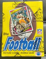 1984 Topps Football Unopened Wax Box 36 Packs BBCE Elway Marino RCs?  Free SHIP