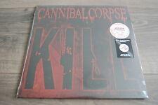 CANNIBAL CORPSE  Kill   COLORED Vinyl LP *RAR* ( Deicide Asphyx Kreator )