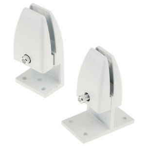 2PCS Office Cubicle Clips Partition/Room Divider Support Bracket Panel Clamp