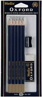 Helix Oxford Executive Companion Set P90010  HB Pencils Eraser and Sharpener Set