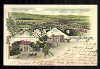 Grossdüngen, OT von BadSalzdetfurth, Ortsansicht, Gasthof zum Bahnhof - 419420