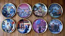 Star Trek Commemorative Collection - Hamilton 8 plate set Flawless & Complete.
